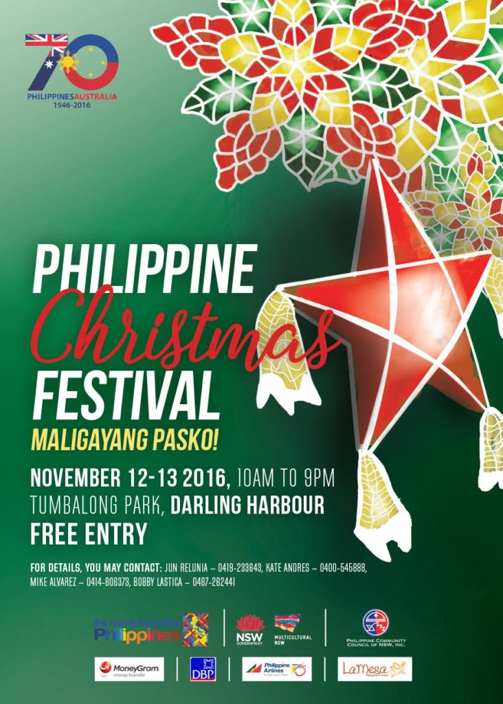 Philippine Christmas Festival Sydney