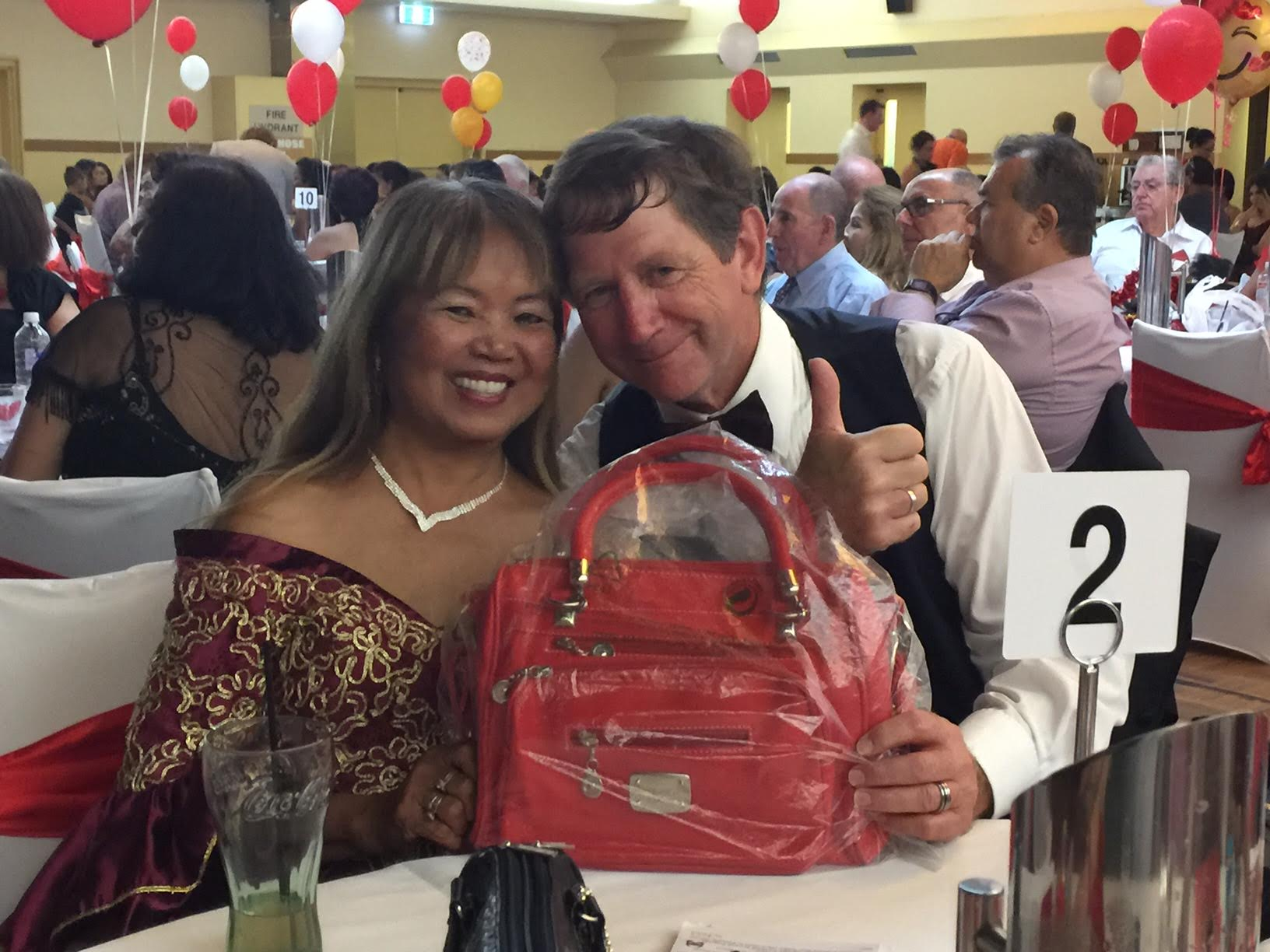 PCCNSW Secretary and AUSLUZON Chairperson Darrell Swadling won in IFMWG event raffle