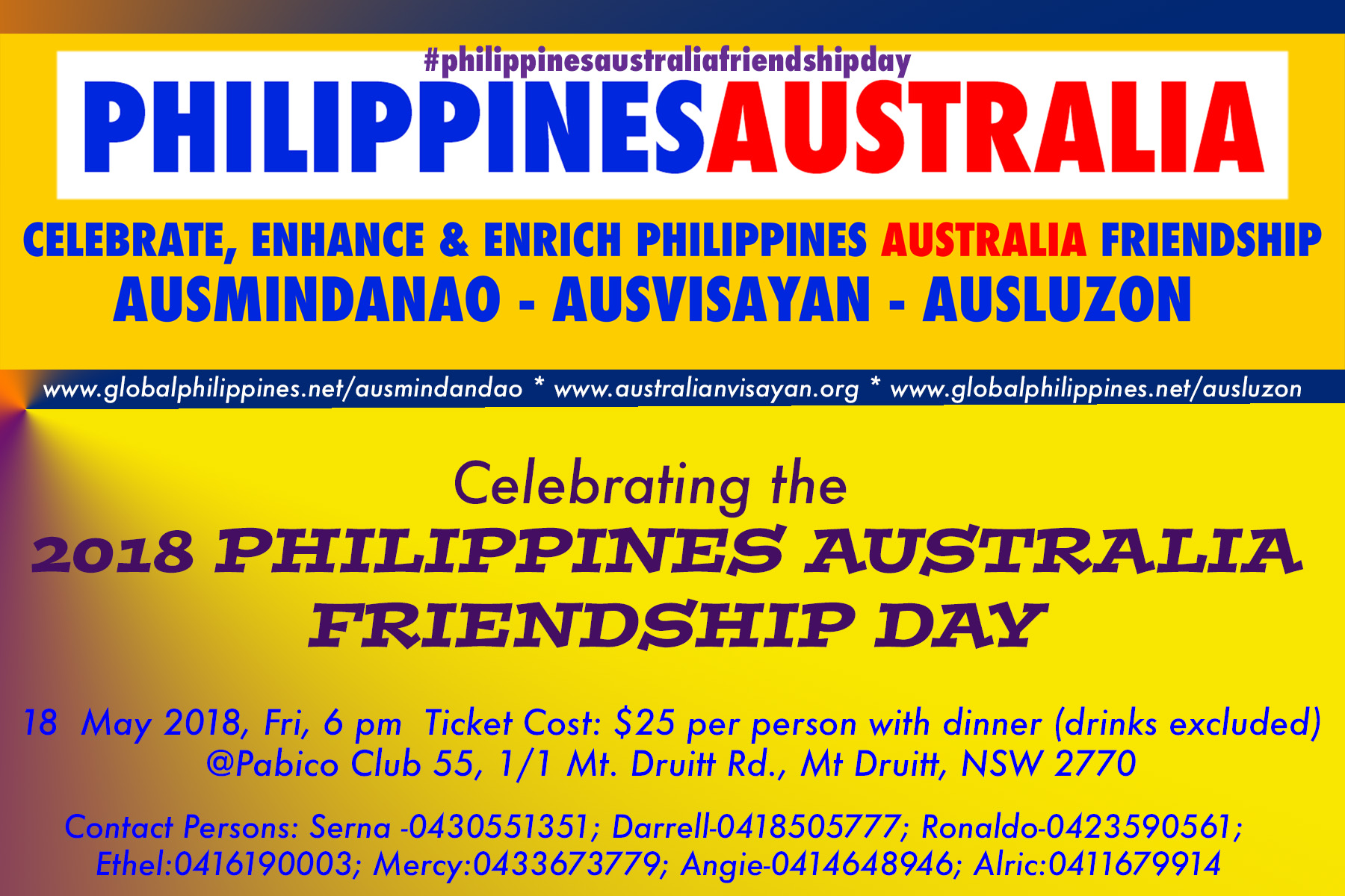 AUSLUZON-Philippines-Australia-Friendship-Day-2018