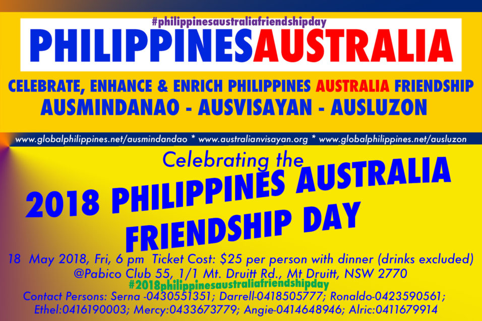 2018-Philippines- Australia- Friendship-Day