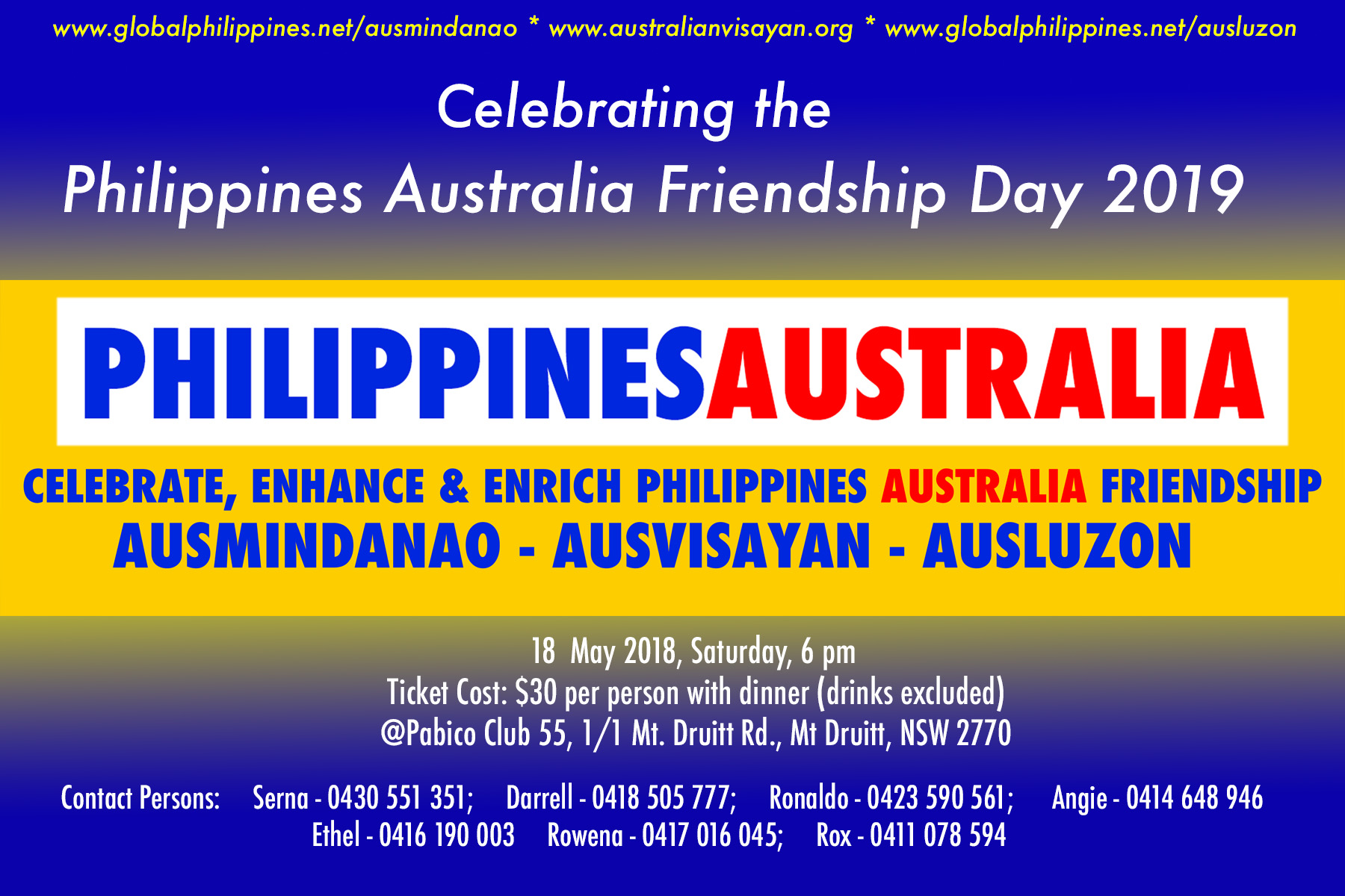2019 Philippines Australia Friendship