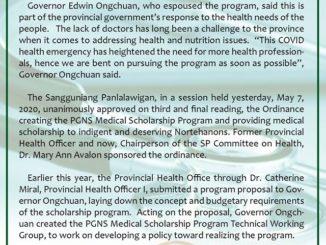 Northern Samar Scholarship