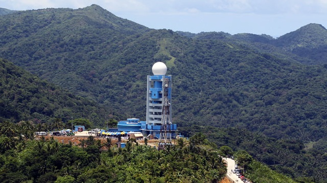 The JICA funded doppler radar at Virac, Catanduanes