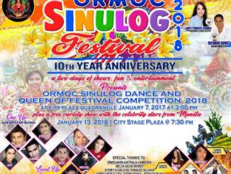 Ormoc Sinulog Festival 2018