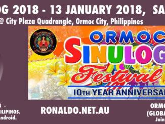Sinulog Ormoc 2018 on 13 January.