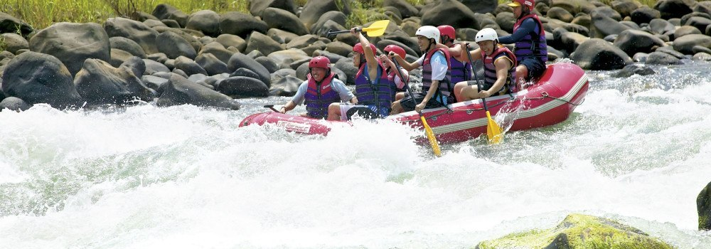 Water Rafting at Cagayan de Oro Philippines