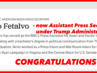 Ninio Fetalvo- Assistant Press Secretary